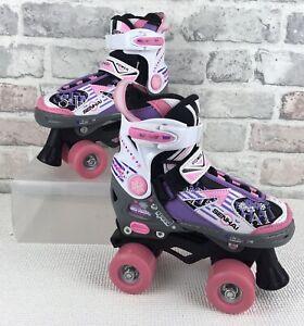 Senhai Girls Roller Skates UK Children's XS Size 10-12  29-32 Pre Owned