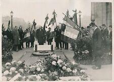 PARIS c. 1930 - Délégations Anciens Combattants Arc de Triomphe - PRM 608