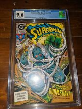 Superman: The Man of Steel CGC 9.6 White Pages