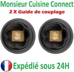 Engrenage Guide de Couplage Monsieur Cuisine Connect Silvercrest LIDL SKMC 1200