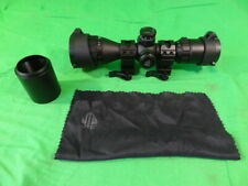 Leapers UTG CQB AO Mil-dot 3-9x32 Rifle Scope with Light Up Reticle MINT 1-Owner