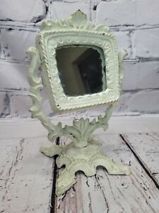 "Cast Iron VanityMirror Victorian Style9"" Antique Style"