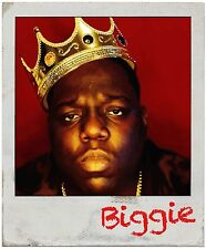 Notorious B.I.G Sticker Decal Gangster Big Papa Biggie Smalls Tupac Rap Polaroid