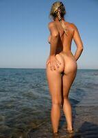Pinup pin up nude model girl woman Nice 5*7 inch Glossy photo 6 β