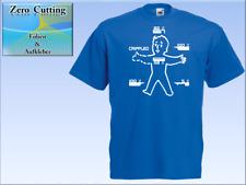 T-Shirt im PipBoy Status Fallout Boy Style für Gamer, Nerds, Fun, Geek, Hacker