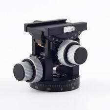 Luland Produced CNC Technical 3D  Geared Tripod Head GS