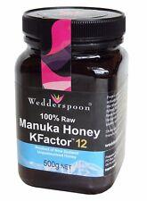Manuka Crudo Wedderspoon fattore K 12 - 500G/17.6OZ