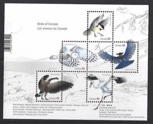 Kanada 2018 Vögel Von Kanada Miniatur Blatt Nicht Gefaßt Postfrisch, MNH