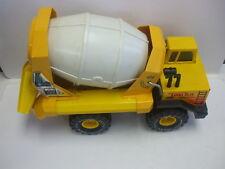 Vintage Tonka Turbo Diesel Cement Mixer Pressed Steel Truck 810593
