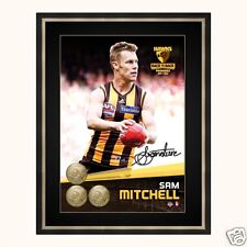 Hawthorn 2014 Premiership Signed Herograph - Sam Mitchell Licensed Product