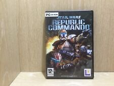 Star Wars Republic Commando PC Game Boxed with Manual Acceptable Disc