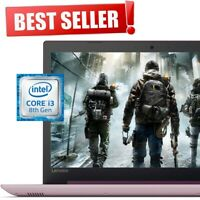 "LENOVO IdeaPad 15.6"" Intel Core i3 3.40GHz 1TB HD 4GB Ram DVD+RW Win10 Laptop"
