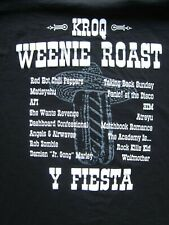 Kroq Weenie Roast 2006 t-shirt – Size Xl – Red Hot Chili Peppers, Panic at the D