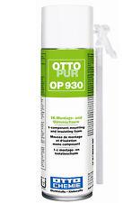 OTTOPUR OP930 500 ml 1K-Montage-Schaum Dämmschaum Bauschaum Füllschaum Schaum