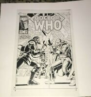 Doctor Who Sci Fi Supernatural Advertising Cover Production Art Acetate rare