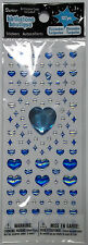Clearance December Turquoise Birthstone Stickers Embellishments 127 Pcs Darice