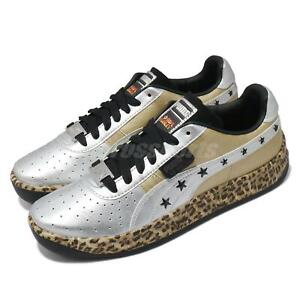 Puma GV Special Leopard X PS Paul Stanley Gold Silver Men Casual Shoes 372752-01