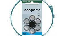30 x Hörgerätebatterien Hörgeräte-Batterien Ecopack Varta Zinc-Air 10  PR70