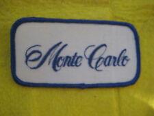 "Vintage Chevrolet Monte Carlo Patch 4"" X  2"""