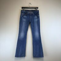 Big Star Jeans - Sweet Low Boot Distressed Wash - Tag Size: 28L (30x33) - #7659
