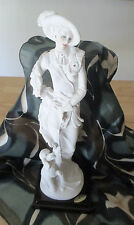 Guiseppe Armani Figurine - Lady with Poodle 1987 - Made in Italy