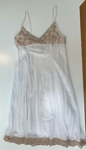 Dosa White Cotton Slip Dress 4