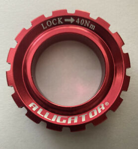 ALLIGATOR Bicycle Rotor 15mm & 20mm Lock Ring for Shimano Hub - Color: Red.
