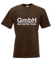 Camiseta Hombre Gmbh - Carcasa Veces Cerveza Holen i Divertido Eslogans Fun