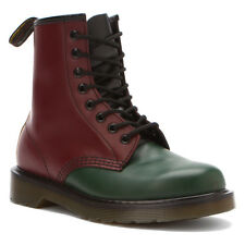 Dr. Martens  Men's 1460 Red Green Yellow Ankle Boots ALL SIZES!!!