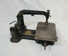 Antique 1850's No. 3 Wheeler & Wilson Sewing Machine No. 856723 Cast Iron Rare