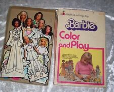 1974 Color And Play Barbie Activity Toy