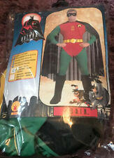 ROBIN (BATMAN AND ROBIN) MENS MUSCLE FANCY DRESS COSTUME SIZE SMALL   MENS PARTY