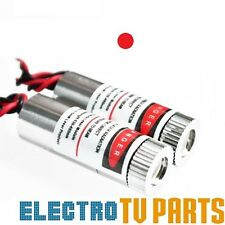 Red Laser DOT Module 650nm 5mW Focus Adjustable Laser Head Unit 5V Industrial