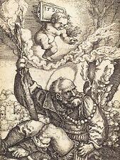 BARTHEL BEHAM GERMAN SAINT CHRISTOPHER OLD ART PAINTING POSTER PRINT BB4919A