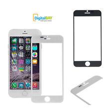 Ricambio Vetro Vetrino Screen Front Bianco per Iphone 6S Plus / 6 Plus Biadesivo