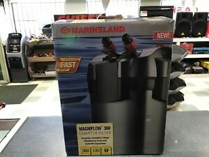 NEW Marineland ML90751 Magniflow Canister 360 Aquarium Filter up to 100 Gallons