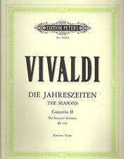 """Vivaldi - Die Jahreszeiten für Violine und Streichorchester """"Der Sommer"""""""