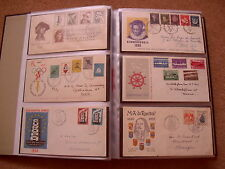collectie FDC's in 4 Davo albums 1956 - 2007