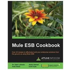 Mule ESB Cookbook (2013, Paperback, New Edition)