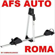 """PORTABICI DA TETTO AFS""""ASSO""""IN ALLUMINIO CON ANTIFURTO 100%MADE IN ITALY"""