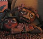 PATTERN Primitive Folk Art Doll   Halloween Pumpkin Witch Ornie FREE SHIPPING