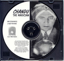 CHANDU, THE MAGICIAN - 166 Shows Old Time Radio In MP3 Format OTR 1 CD