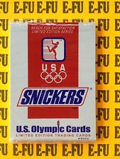 1992 Snickers U.S. Olympic Trading Cards Factory Sealed Set 1-11 BRUCE JENNER