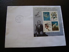 FRANCE - envelope 1st day 25/2/1995 (bloc audubon the birds) (cy16)french