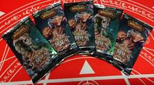 WOW TCG ITALIAN Throne of the Tides LOT OF 5 Sealed Booster Packs