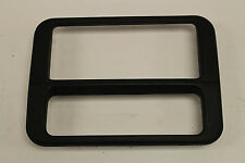 00-02 Firebird Trans Am Ebony Black Radio Trim Bezel Used GM