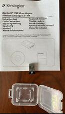 New  Kensington Bluetooth 2.1 USB micro adapter