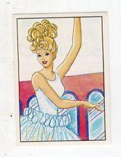 figurina - BARBIE 1989 PANINI - NUMERO 16