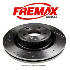 Rear Brake Rotor Fremax Painted 2044230412 For: Mercedes W204 C63 AMG 2008-2013
