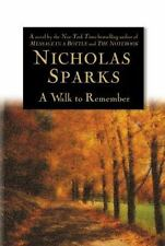 A Walk to Remember, Nicholas Sparks, 0446525537, Book, Acceptable